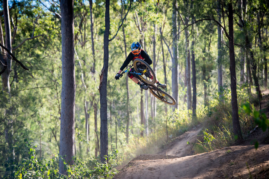 Photo from Round 5 of the Shimano Enduro Series at Mt Joyce, 30-7-2017. Photo by Element Photo and Video Productions.