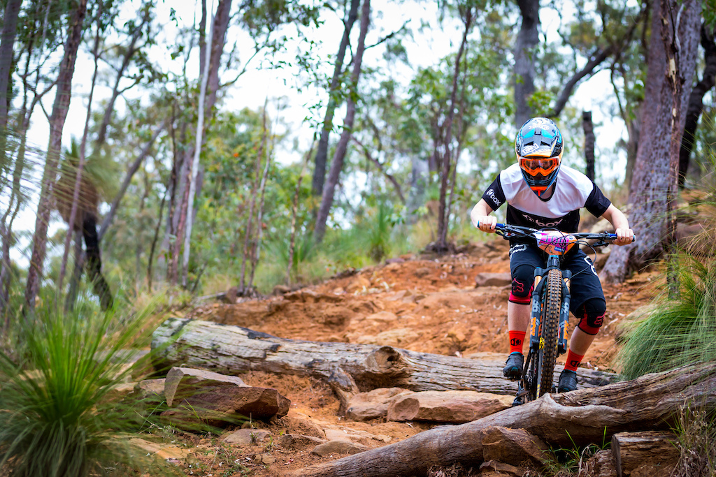 Photo from Round 7 of the SEQ Enduro Series 2018  at Mt Joyce, Hosted by White Lightning Events, Photo by Element Photo and Video Productions.