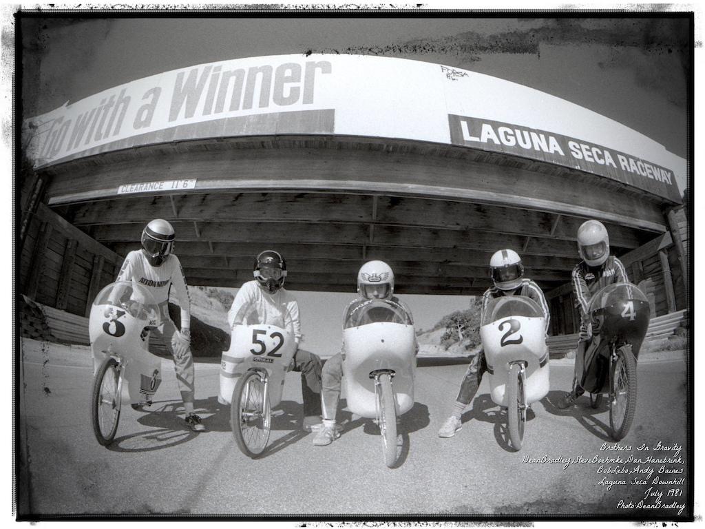 Laguna Seca GPV Downhill race 1981