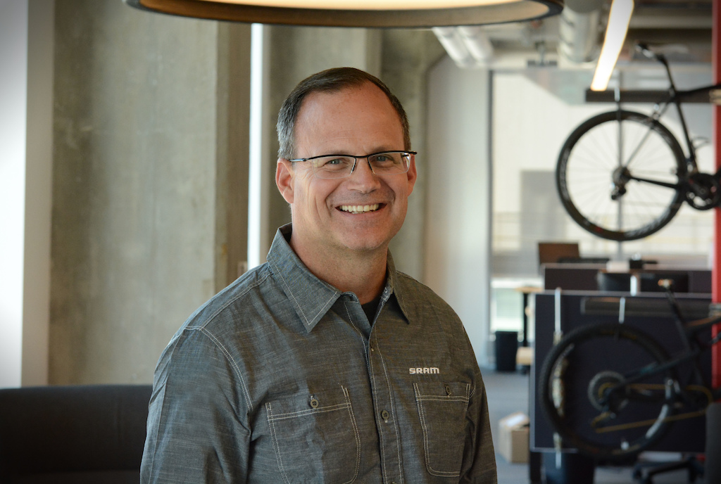 Ken Lousberg SRAM s new CEO as of January 1 2109