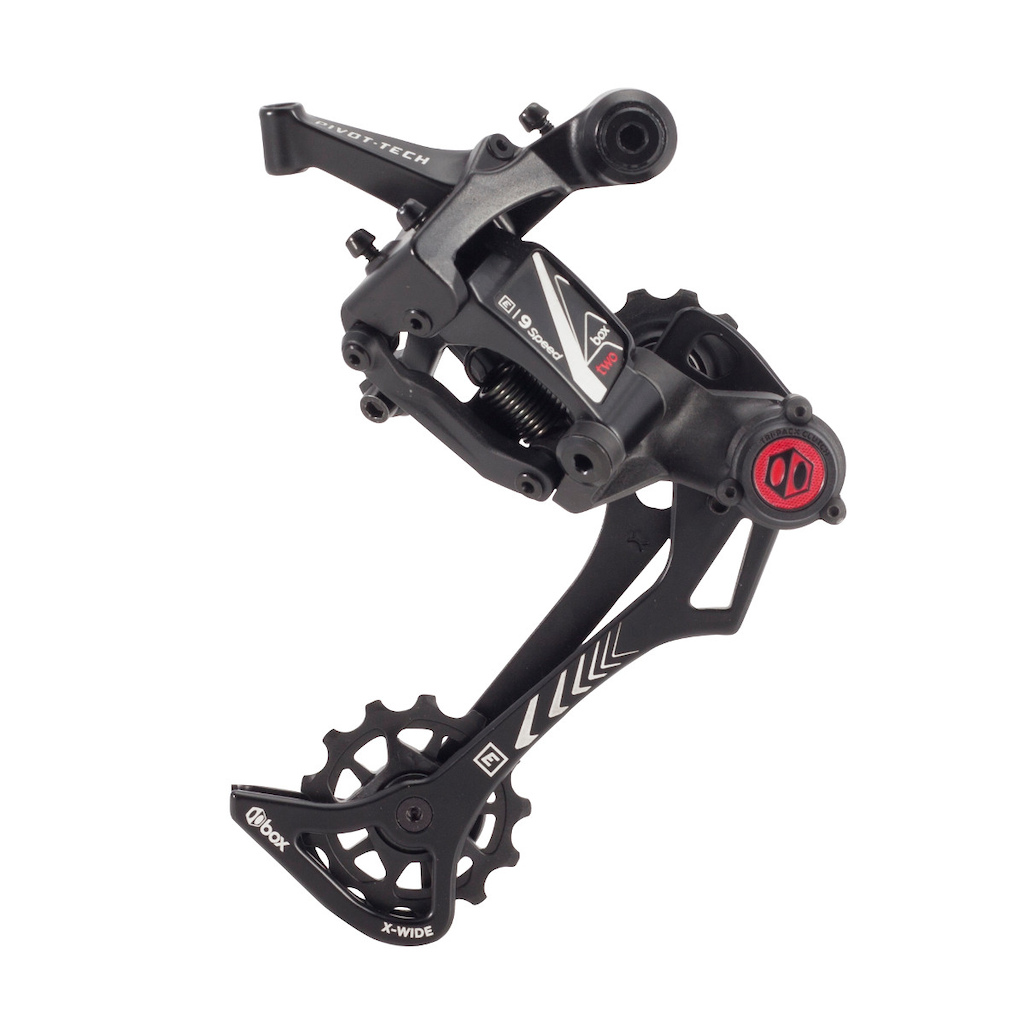 BOX TWO 9 SPEED E-BIKE REAR DERAILLEUR X-WIDE