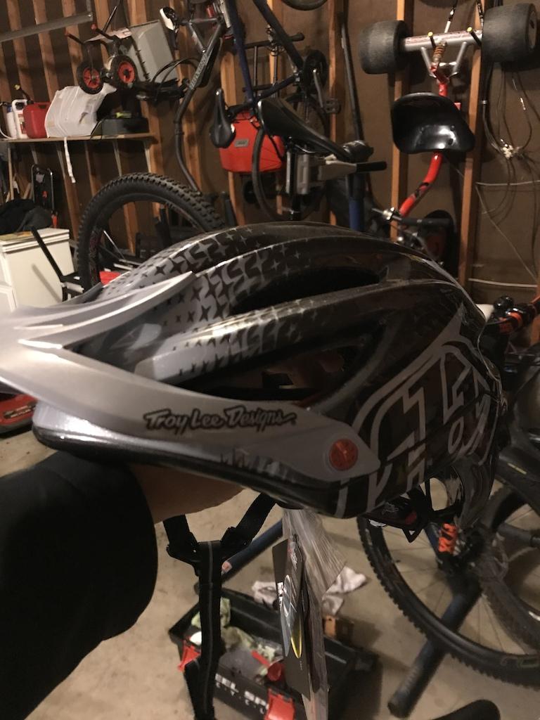 TLD A2 helmet