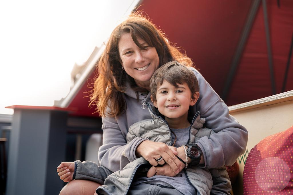 Elayna Caldwell and her son Nico