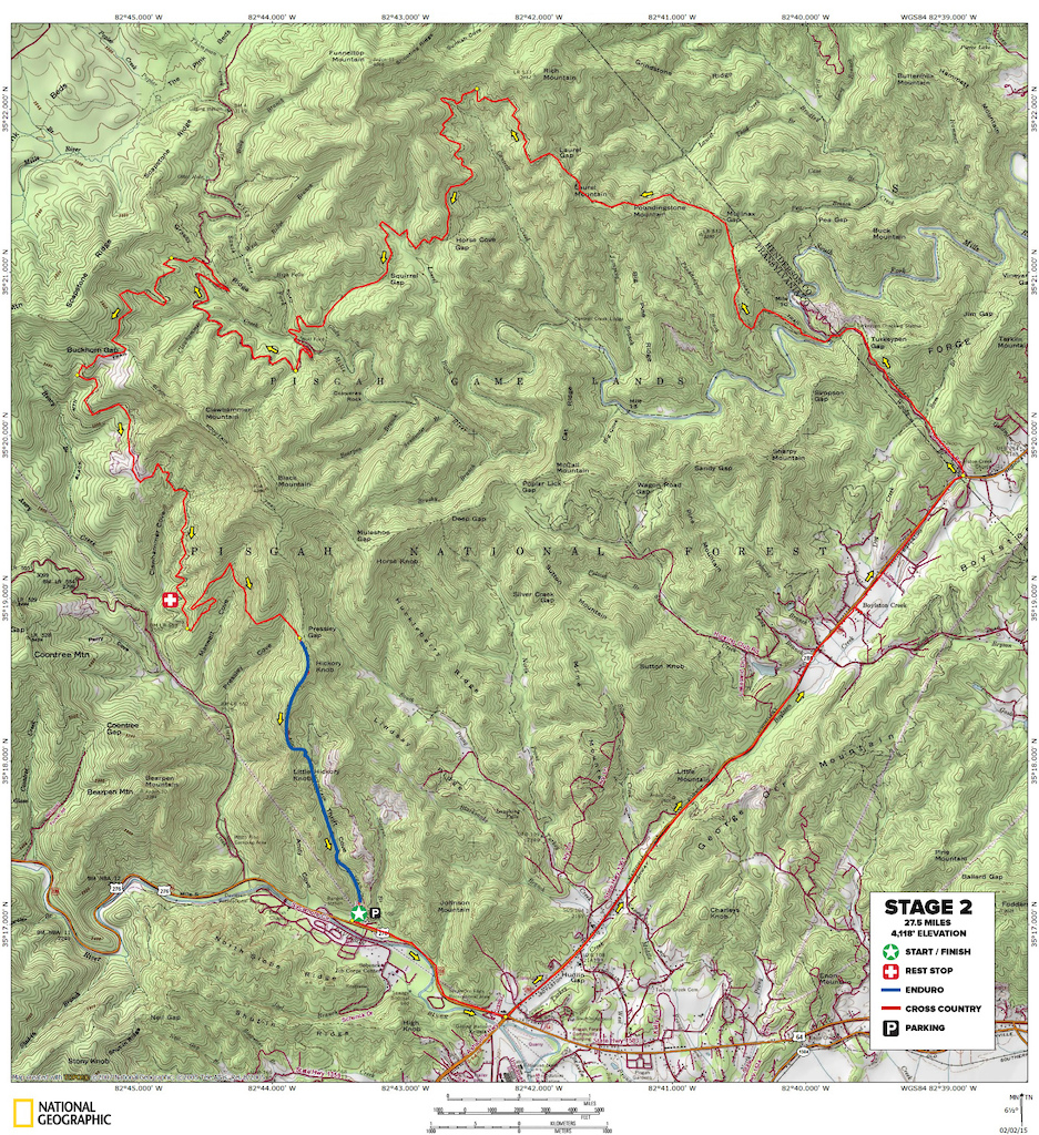 2019 Pisgah Stage Race course info