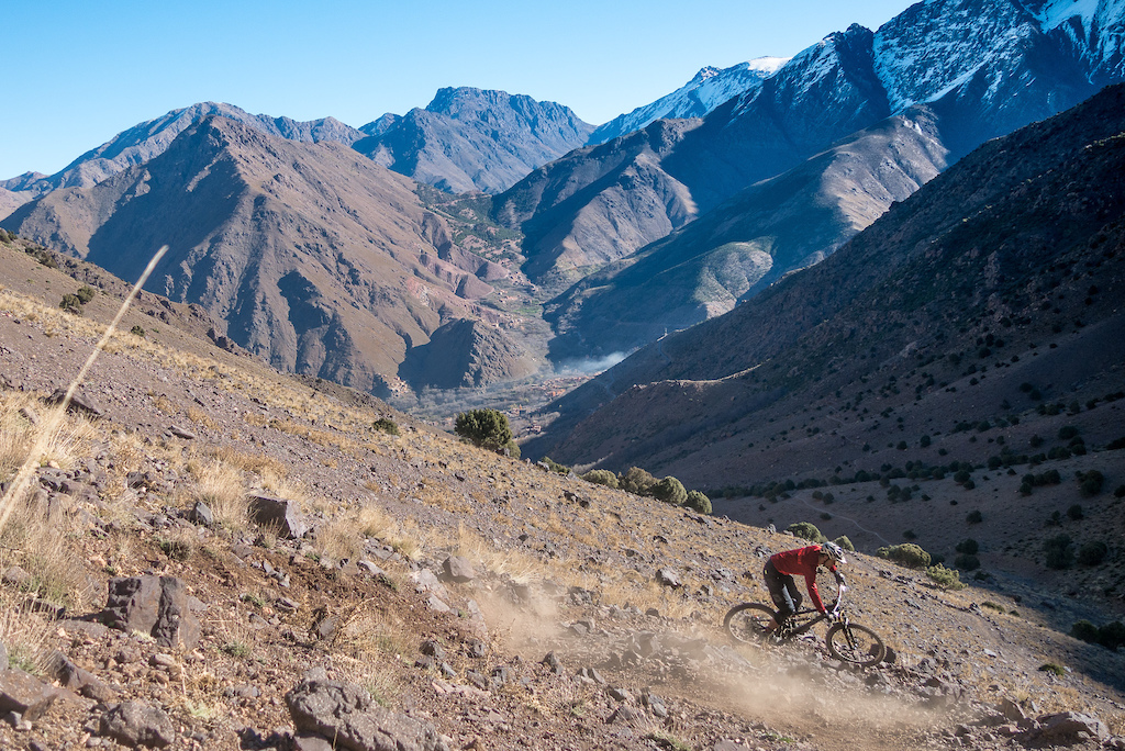 Morning views are the best in Morocco s High Atlas.