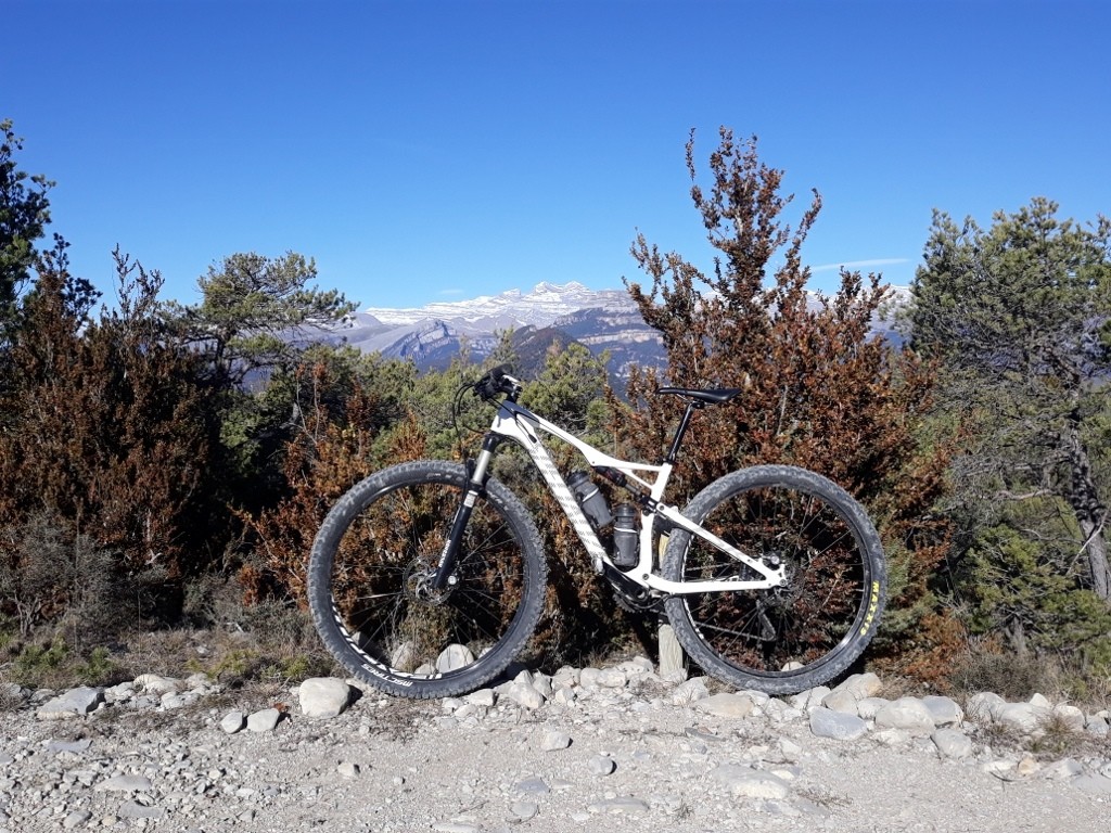 Monte Perdido (The Lost Mountain) in the background …