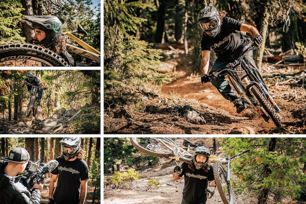 Kyle Jameson at Mt Bachelor Image Trevor Lyden