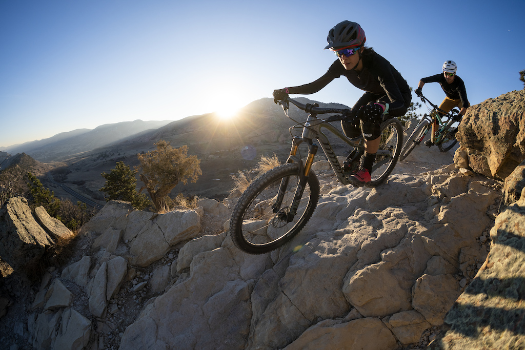 Lucas and Cait on the new RIP 9 RDO from Niner Bikes
