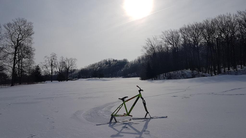 Skibiking Chidoke...Snow much Fun!