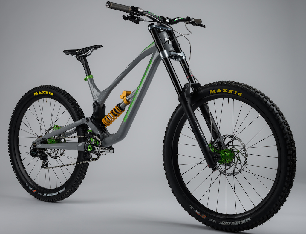 55c49932705 It's time to check out the first new World Cup downhill bike of the year  and it comes in the form of Adam Brayton's Nukeproof Dissent.