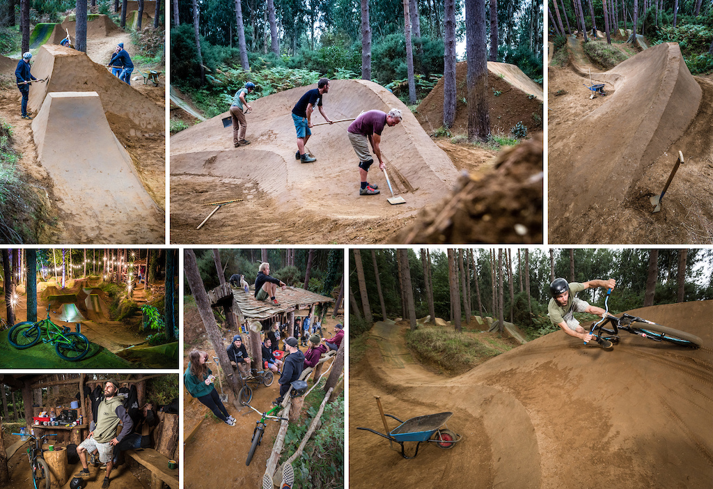 None of this video would be possible without the creation made by the crew. Years of digging and tea drinking have gone into making this place a paradise. More epic shots from Martin Zielinski