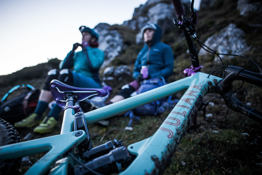 Part of the Juliana Mountains to Sea film documenting Rachel Walker and Julia Hobsons journey across Slovenia. Guided by Jonny from Ride Slovenia.