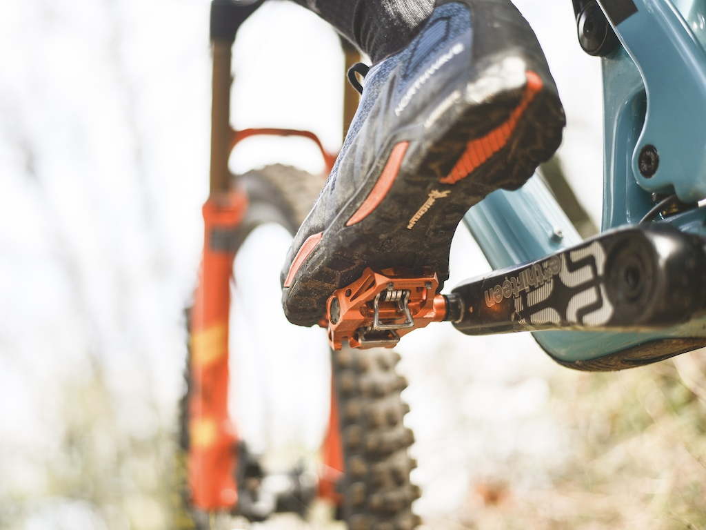 11ed29c2b ATAC technology was developed by our engineers to make the step-in and  step-out easier in our mountain bike pedal range  enduro