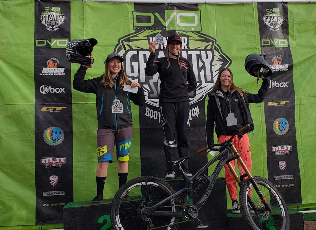 Pro women DH at the 2019 DVO Mob n Mojave Enduro presented by GT Bicycles.
