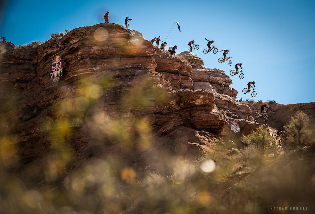 Kyle Strait suicide at Redbull Rampage 2018.