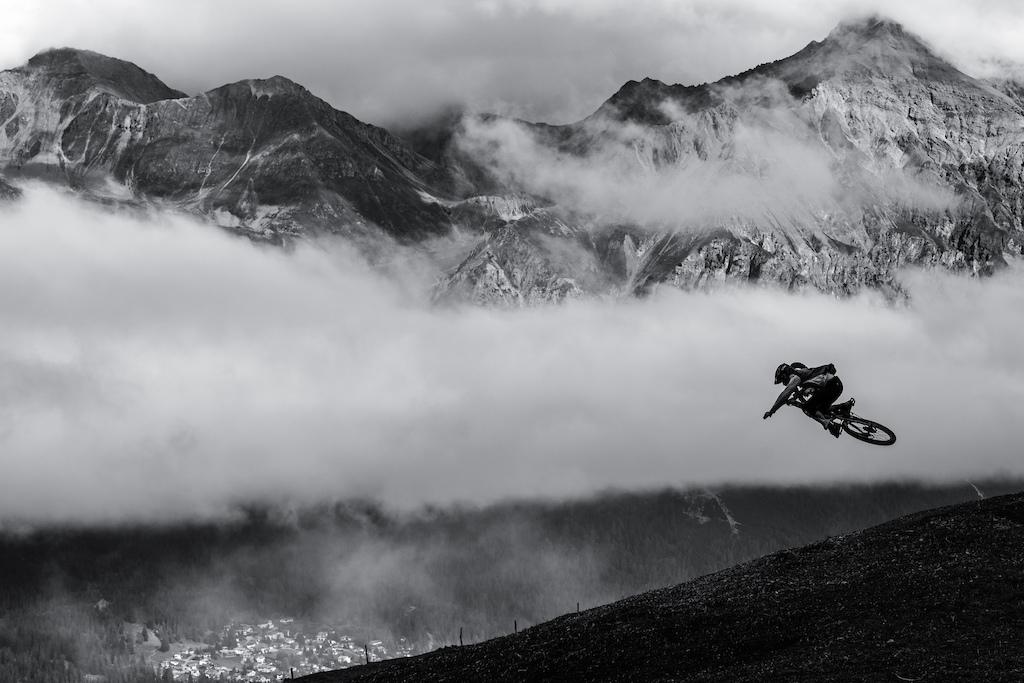 Simon Johansson riding in Lenzerheide, Switzerland.