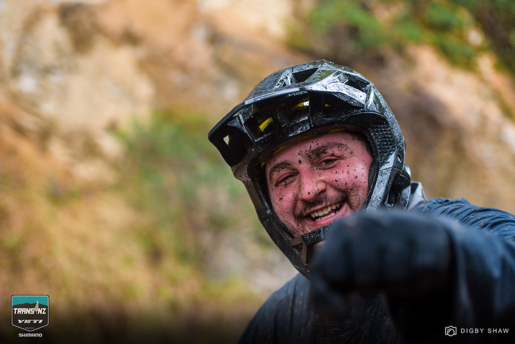 Perpetually stoked and perpetually faster Levi Brown USA has returned to the Trans NZ for the past few years.