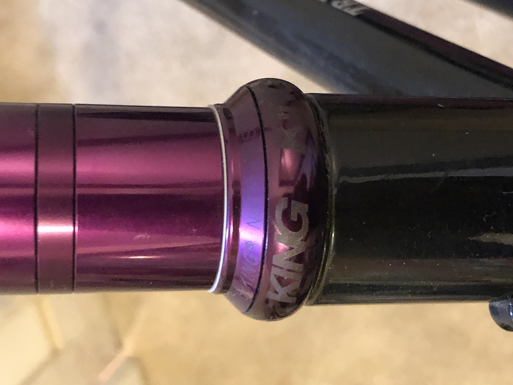 King limited purple kit: