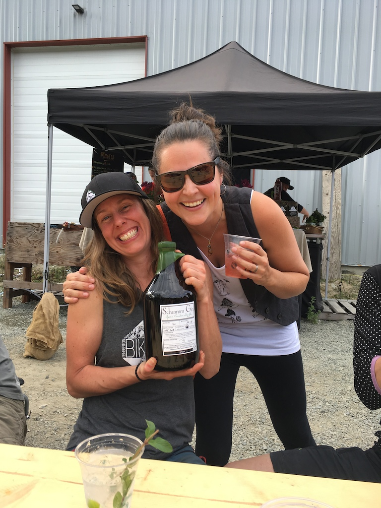The Pemberton Distillery serving up their unique potatoes gin in custom cocktails at the 2018 Spud Crusher after-party.