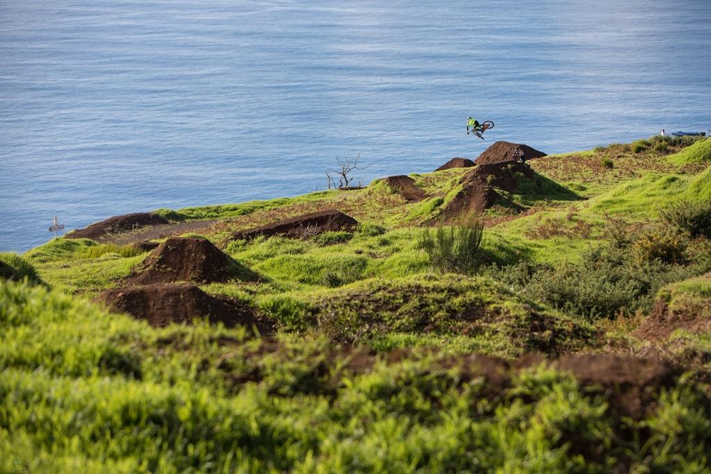 Brendog in Madeira while shooting deathgrip.  Jacob Gibbins /Apect Media
