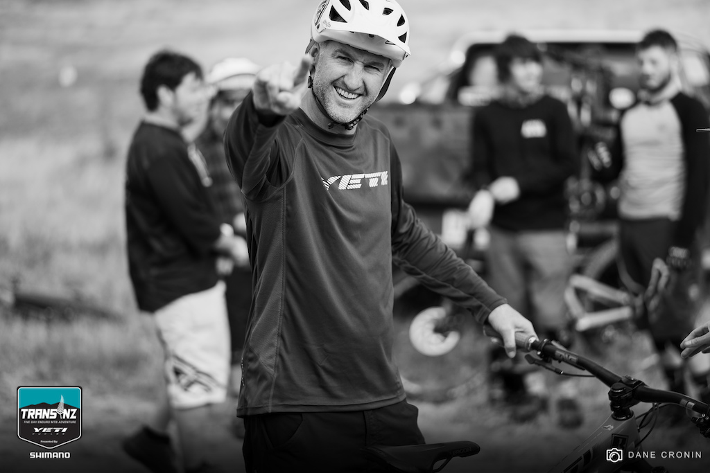 Mark Nickolls Queenstown NZL has more passion for mountain biking in his one finger that most have in their entire being. He had to pull out of the entire race due to injury but showed up in Alexandra to give his best push.