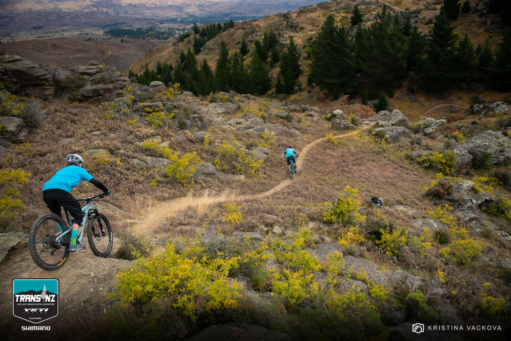 Jamie Weingarten chases Nate Hills down the trails. Not too much different than their casual FollowCamFriday episodes.