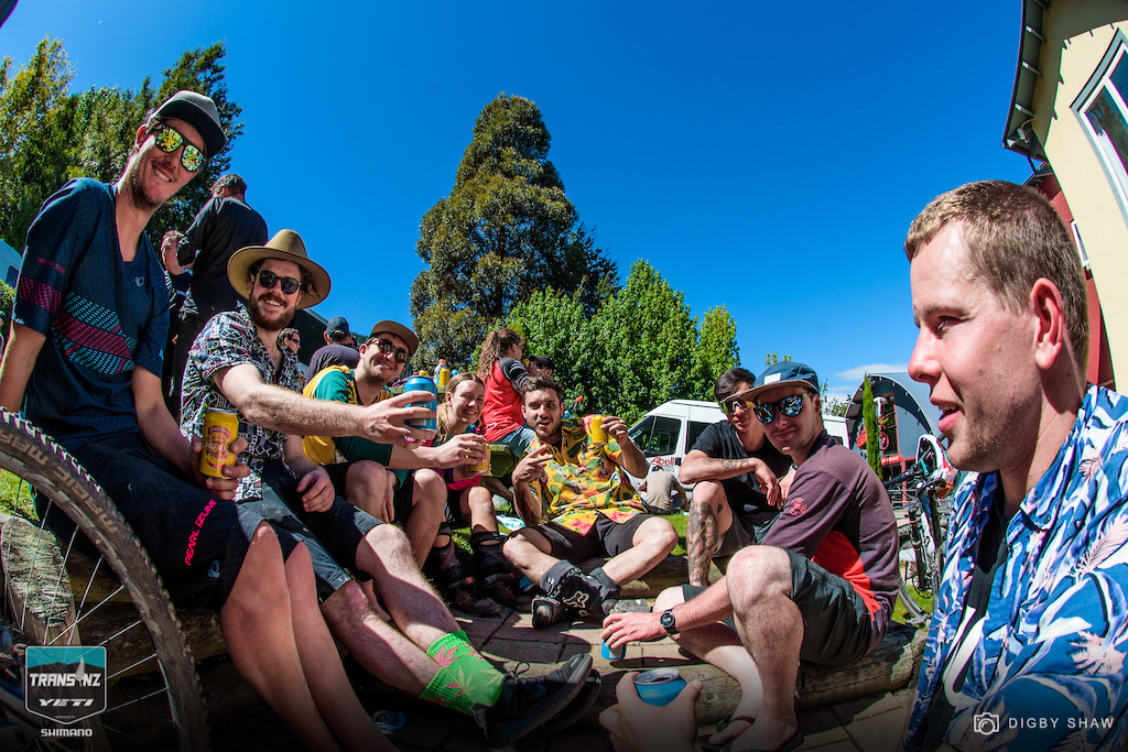 This year the Trans NZ crowd consumed three times the beer by Day 4 compared to previous years.