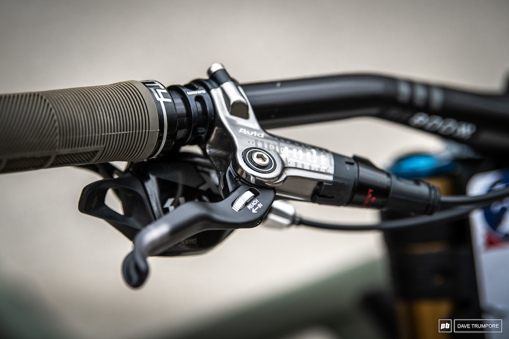 Max Morgan - older style Code levers