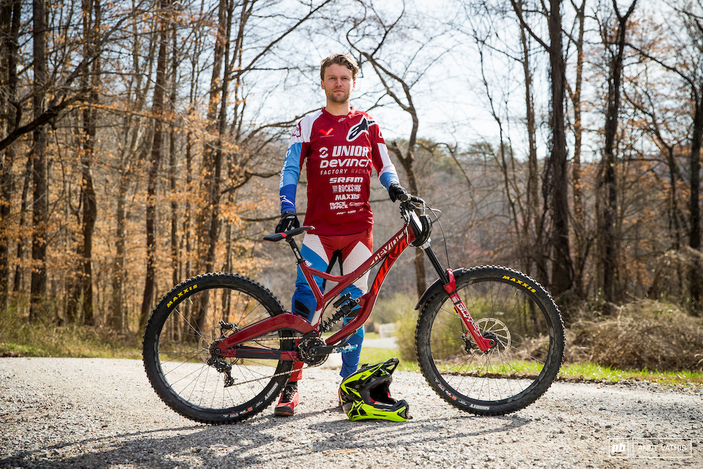 Kirk Mcdowall is officially on Unior Devinci's factory team. The Canadian is excited to get the ball rolling with full support after proving himself on his own terms.