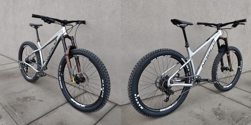 Norco Torrent HT 1 DVO Diamond Fork Spank Oozy 395 Maxxis Minion 2.8 Raceface Aeffect SL 170mm Sram Level T 180 160