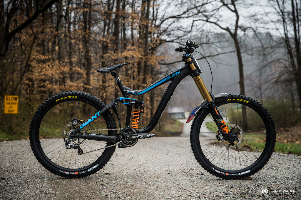 Marcelo Gutierrez s Giant Glory with Fox suspension providing the dampening this year.