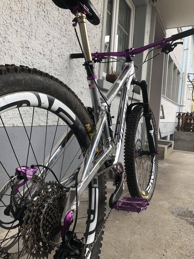 purpled up my ride -