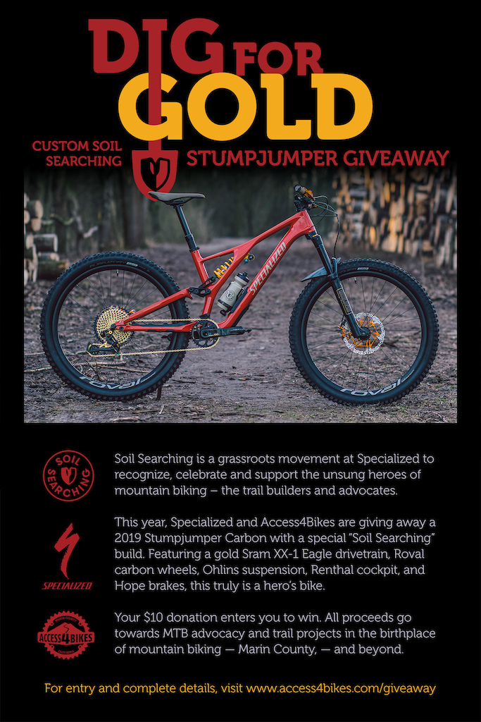 Donate to the Trails in Marin & You Could Win a Stumpjumper - Pinkbike