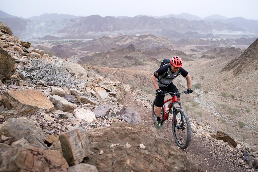 Beatifull trail area at Hatta