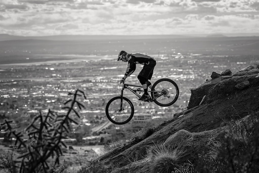 A great Sunday afternoon shooting some sections of the South Foothills trails in Albuquerque.