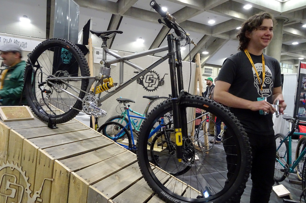NAHBS 2019 Cal Poly Bike Builders