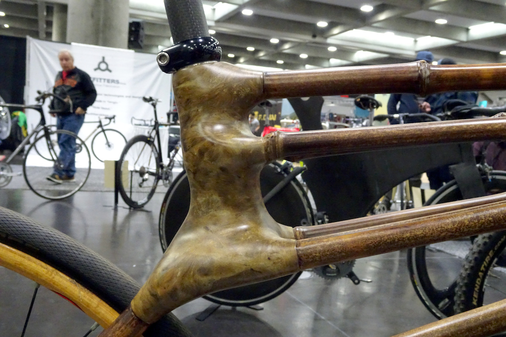 NAHBS 2019 Calfee Bamboo bike