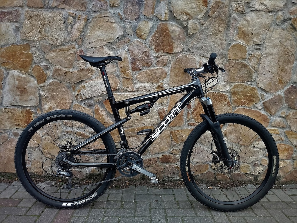 Scott Spark 20 2007 year with Shimano XTR , Tune , Soul , Pace , Avid , Fizik , Syntace , DT . Sunline.