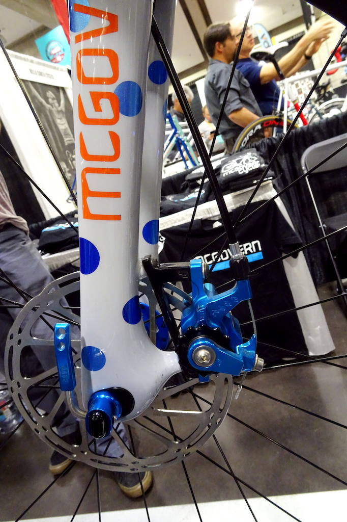 McGovern Cycles titanium gravel bike