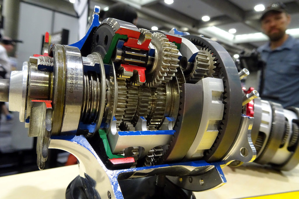Rohloff hub transmission
