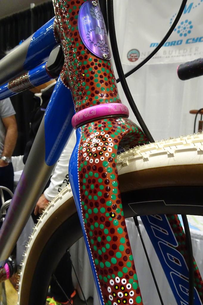 Mooro Cycles titanium gravel bike