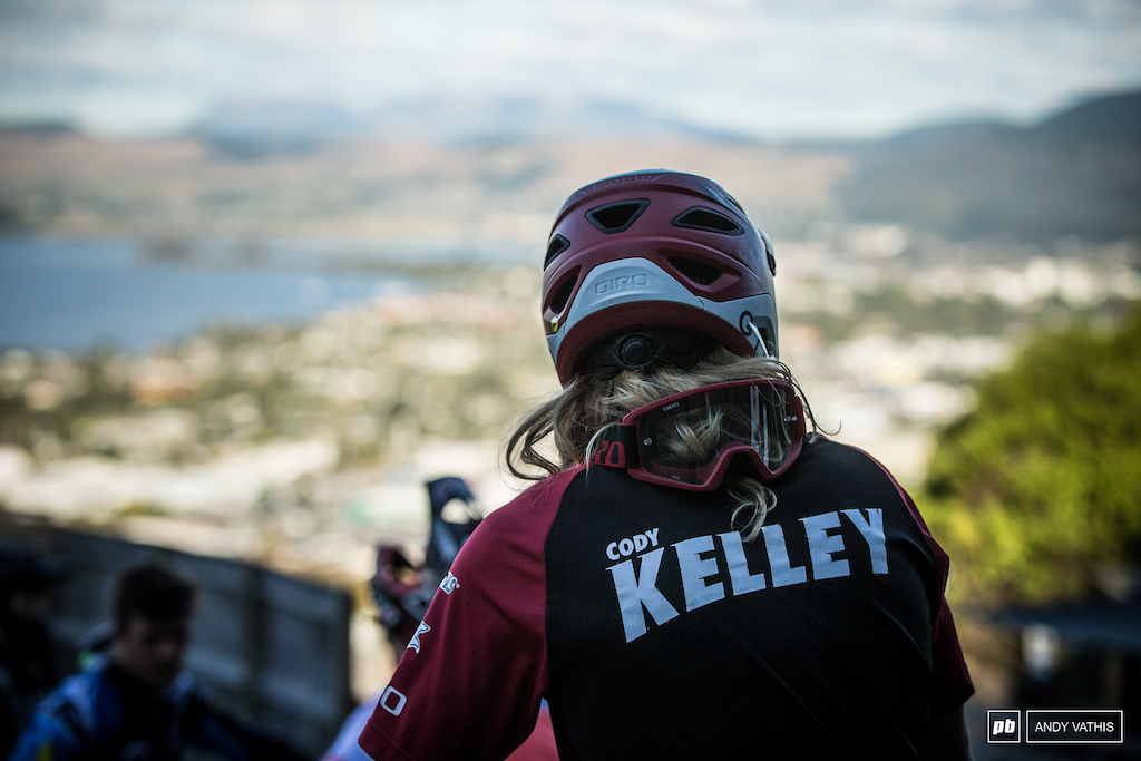 Cody Kelley is one of the smoothest and skilled riders out there and it showed in practice. He was doubling and manualling wherever he could find space.