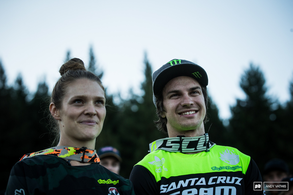 Air DH winners waiting to be summoned to the podium.