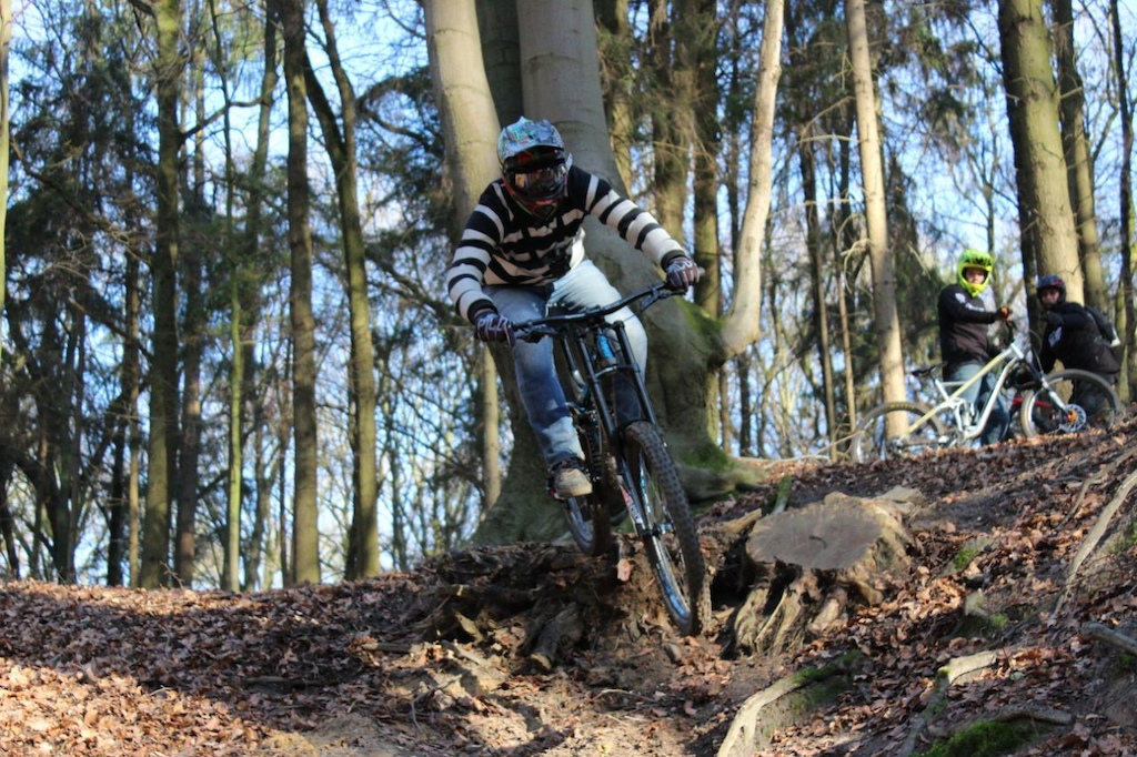 Testing my new DH bike Giant Glory0 Advanced