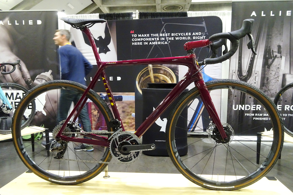 NAHBS 2019 Allied Cycle Works is manufacturing its carbon framed bicycles in the USA.