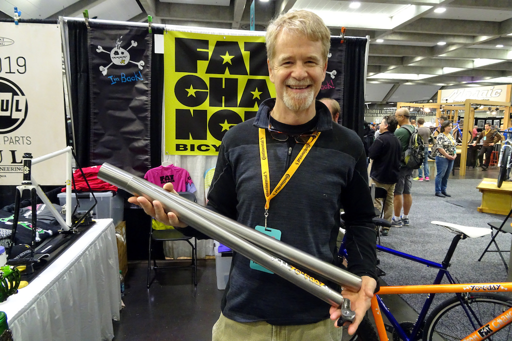 NAHBS 2019 Chris Chance s workshop is in full swing and these tubes will be used to produce the first titanium hardtail to be built there.