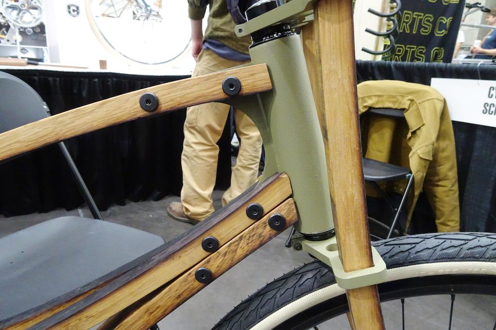 NAHBS 2019 Cooper Barrel Stave Bicycle