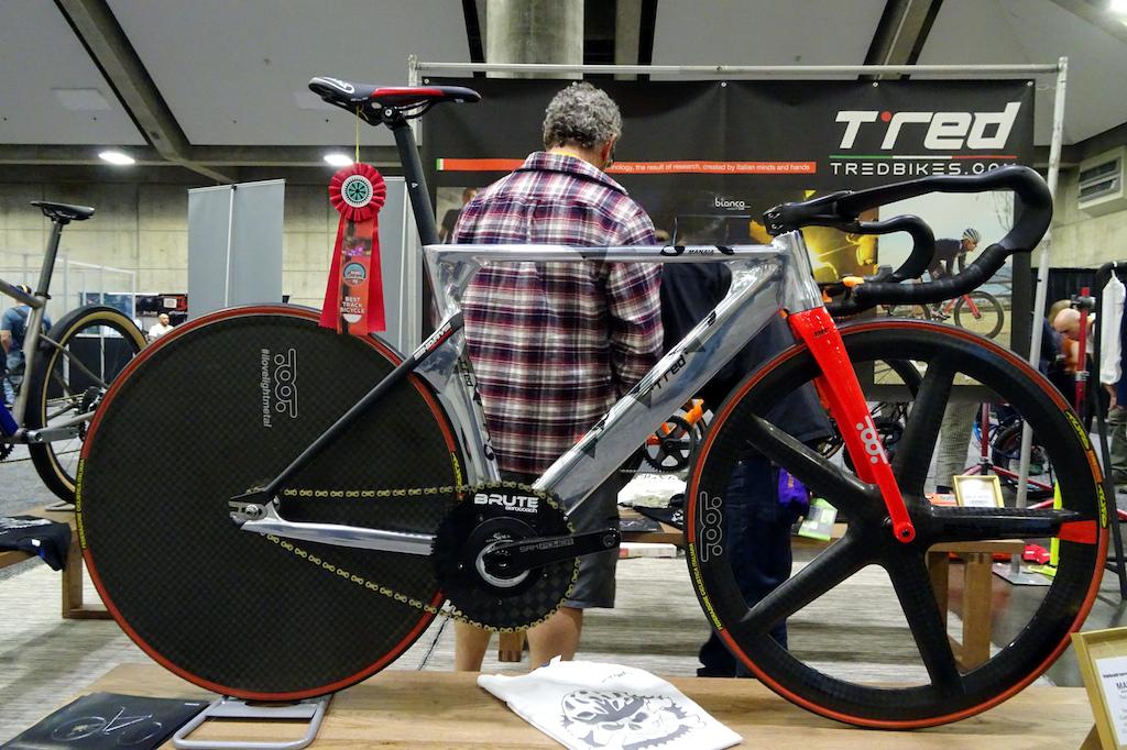 NAHBS 2019 T red Best track bike