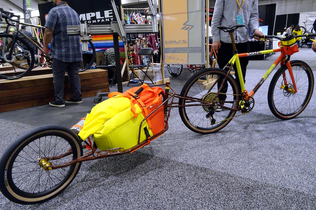 NAHBS 2019 Brad made it to take his Jack Russel Terrier along for the ride.