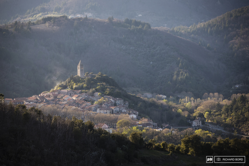 The historic village of Olargues
